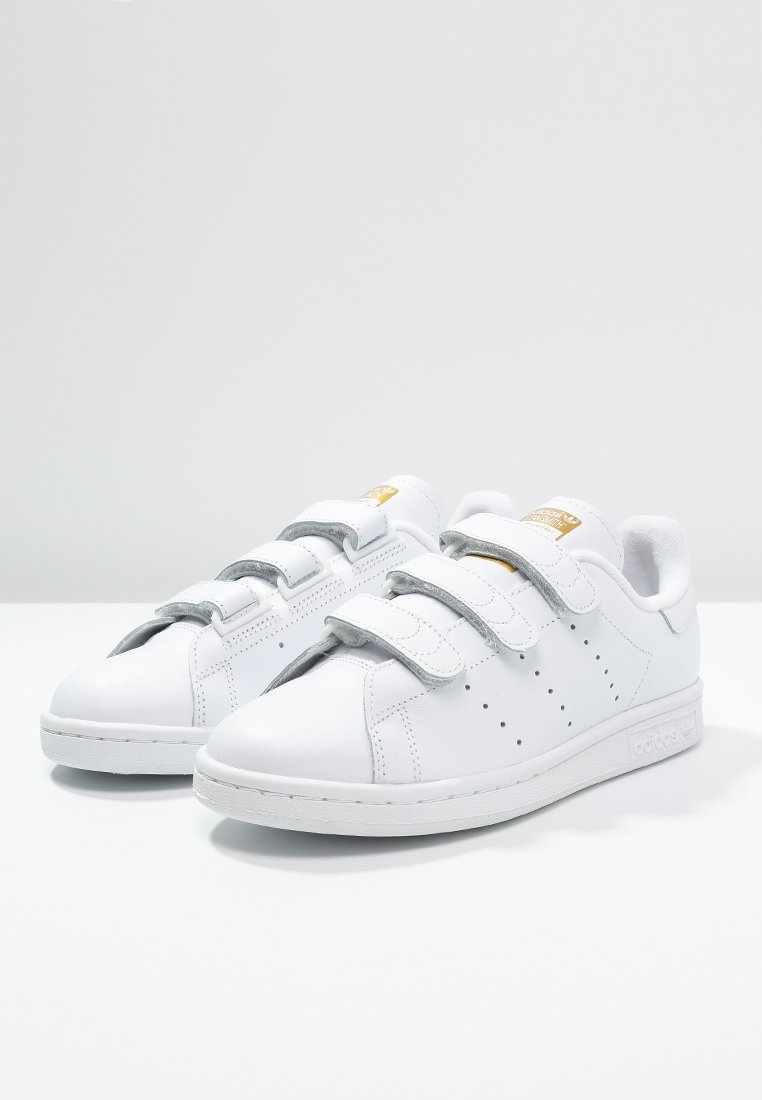 adidas Originals STAN SMITH LACE-FREE SHOES - Baskets basses