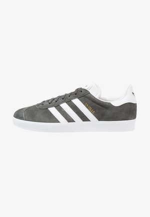 GAZELLE - Trainers - solid grey/white/gold metallic