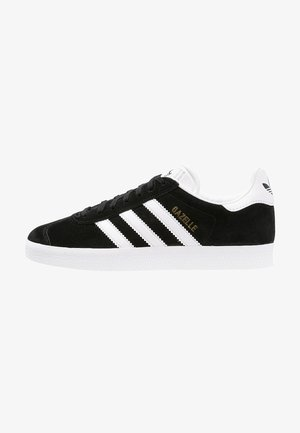 GAZELLE - Sneaker low - core black/white/gold metallic