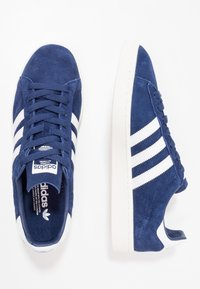 adidas Originals - CAMPUS - Tenisky - dark blue/white/chalk white - 1