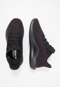 adidas Originals - TUBULAR SHADOW - Trainers - core black/white - 1