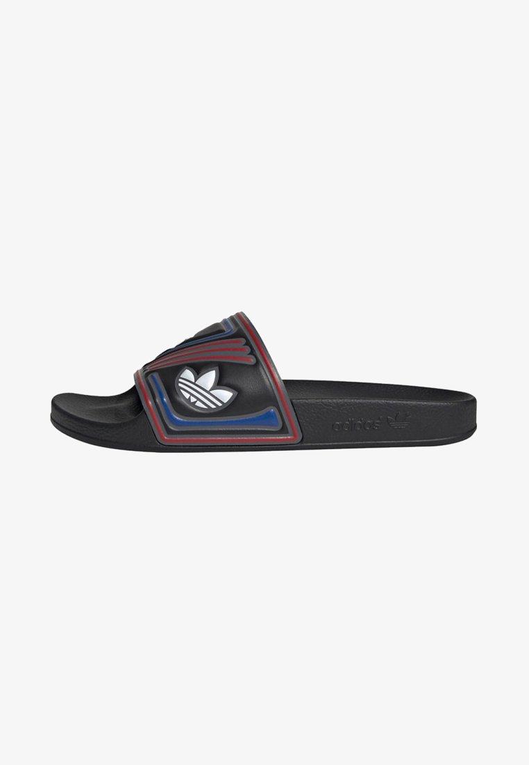 adidas Originals - ADILETTE SLIDES - Pool slides - black