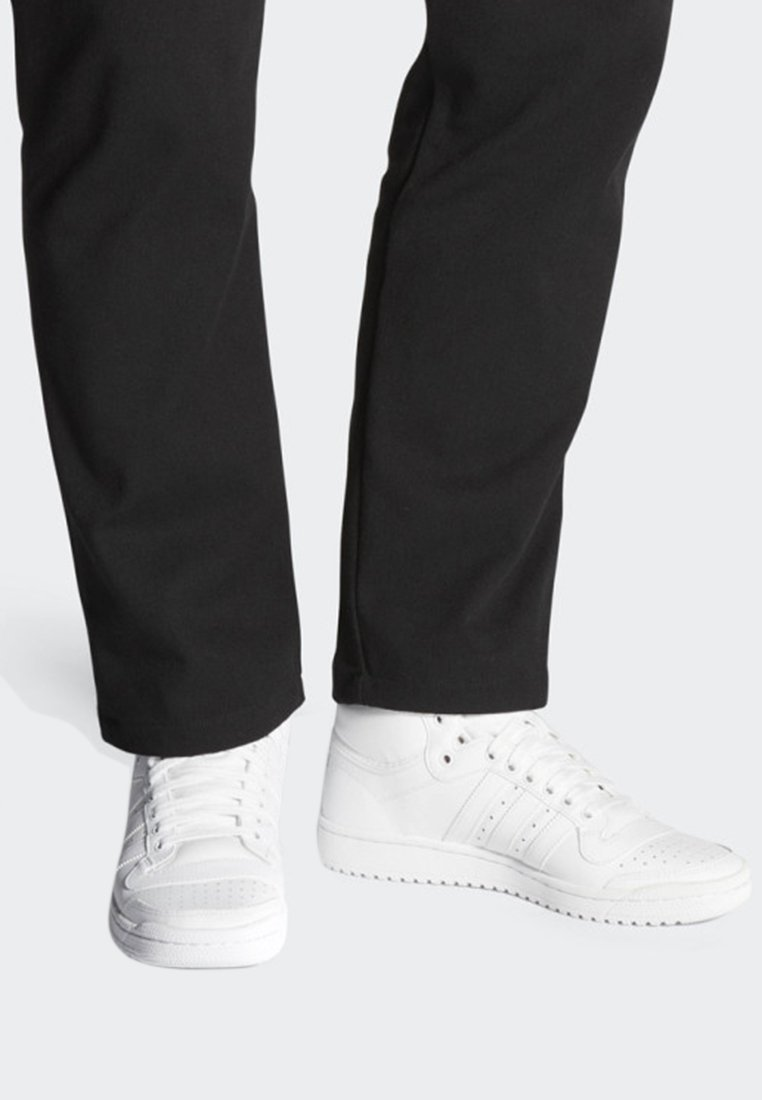 adidas Originals - TOP TEN HI SHOES - Trainers - white