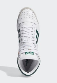 adidas Originals - TOP TEN HI SHOES - Korkeavartiset tennarit - white - 1