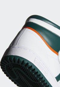 adidas Originals - TOP TEN HI SHOES - Korkeavartiset tennarit - white - 7