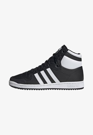 TOP TEN HI SHOES - Høye joggesko - black