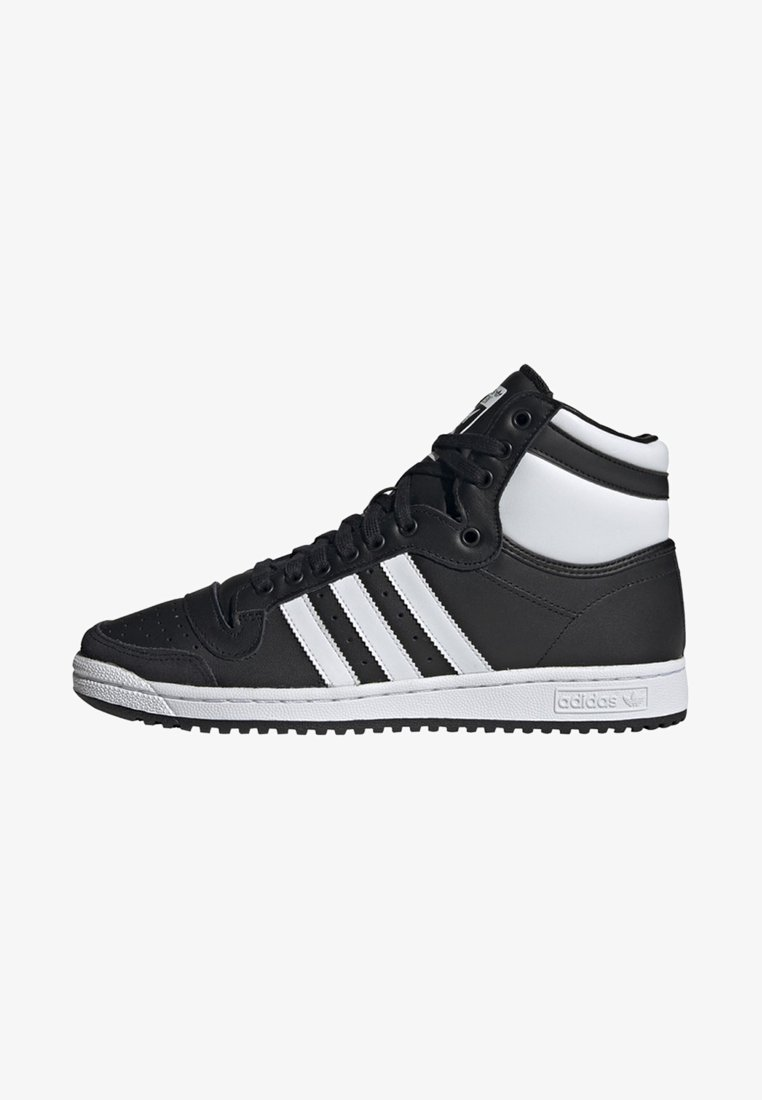 adidas Originals - TOP TEN HI SHOES - Sneakers high - black