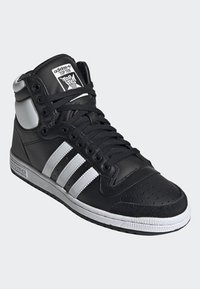adidas Originals - TOP TEN HI SHOES - High-top trainers - black - 2