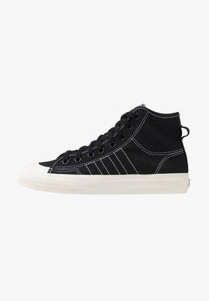 NIZZA - Høye joggesko - core black/footwear white/offwhite