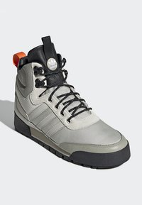 adidas Originals - BAARA BOOTS - High-top trainers - white/grey - 3
