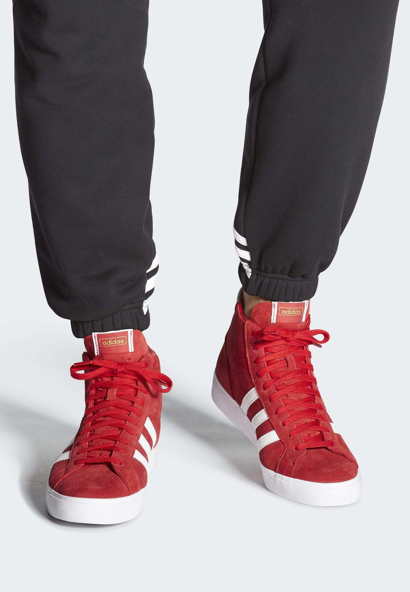 Adidas Originals Basket Profi Shoes - Sneakers Alte Red tPQPZPS