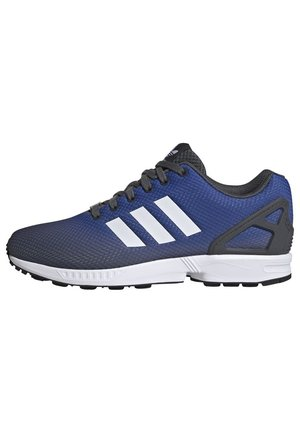 ZX FLUX SHOES - Sneakers laag - grey/ white/blue