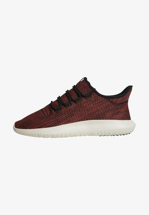 TUBULAR SHADOW - Trainers - core black/trace scarlet/chalk white