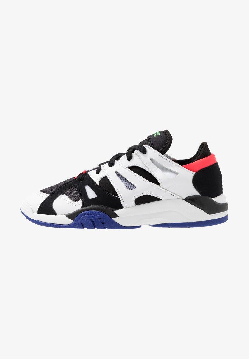 adidas Originals - DIMENSION  - Sneaker low - core black/footwear white/active blue