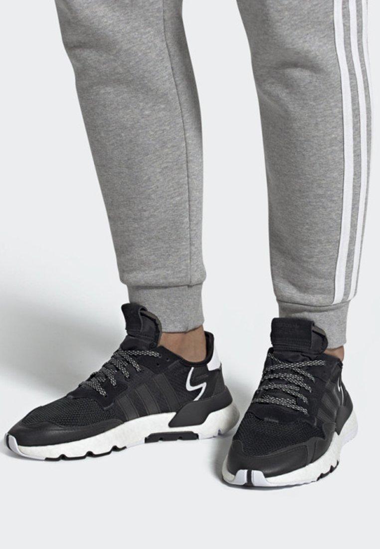 adidas Originals - NITE JOGGER SHOES - Trainers - black