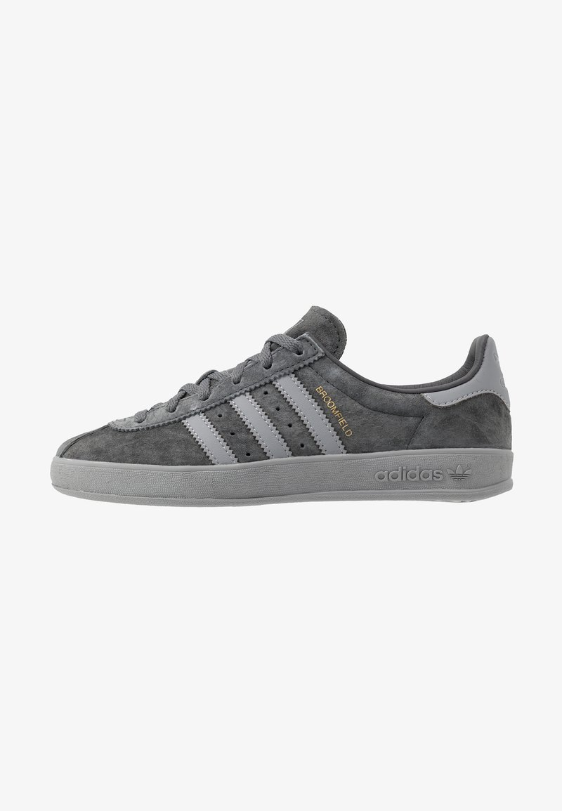 adidas Originals - BROOMFIELD - Sneakers basse - grey six/grey three/gold metallic