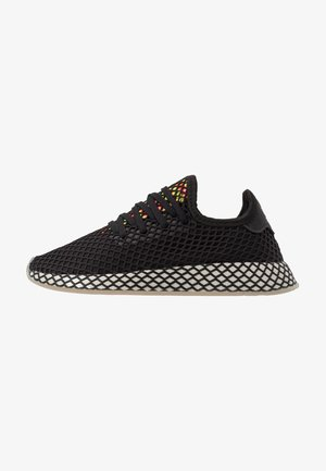 DEERUPT RUNNER - Tenisky - core black/sesame/solar red