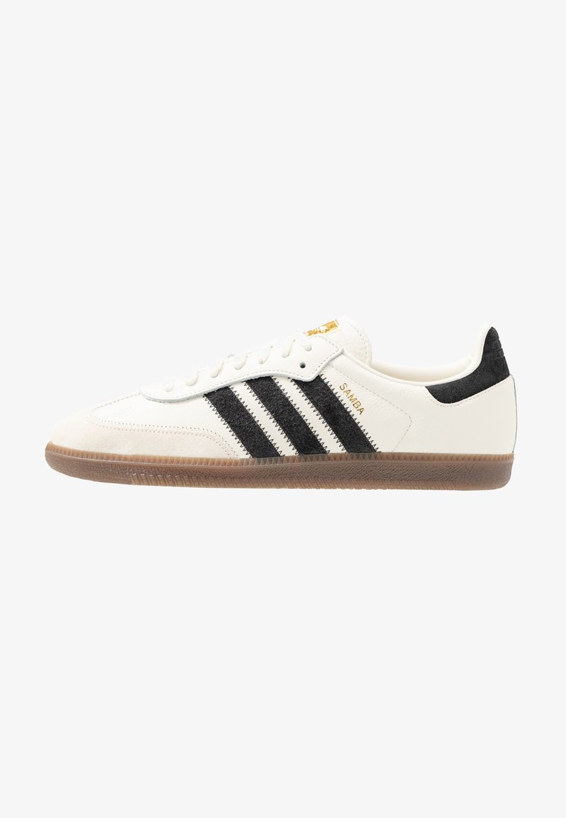 adidas Originals - SAMBA - Trainers - offwhite/carbon