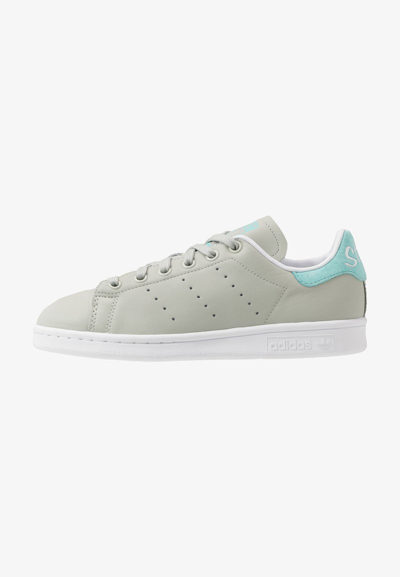 adidas Originals - STAN SMITH - Sneakers basse - ash silver/easy mint/footware white