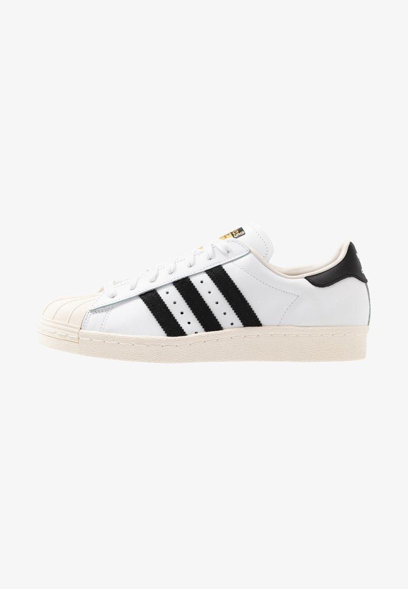 adidas Originals - SUPERSTAR 80S - Sneakers laag - white/black/chalk