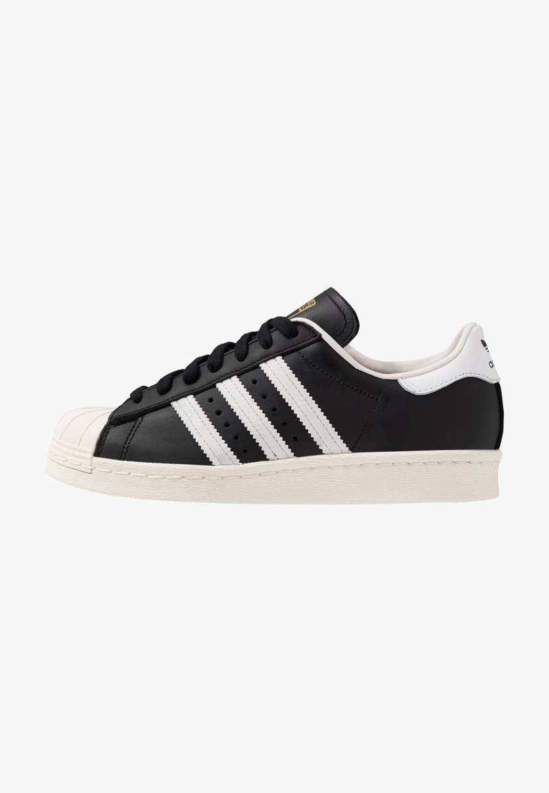 adidas Originals - SUPERSTAR 80S - Sneaker low - black/white/chalk