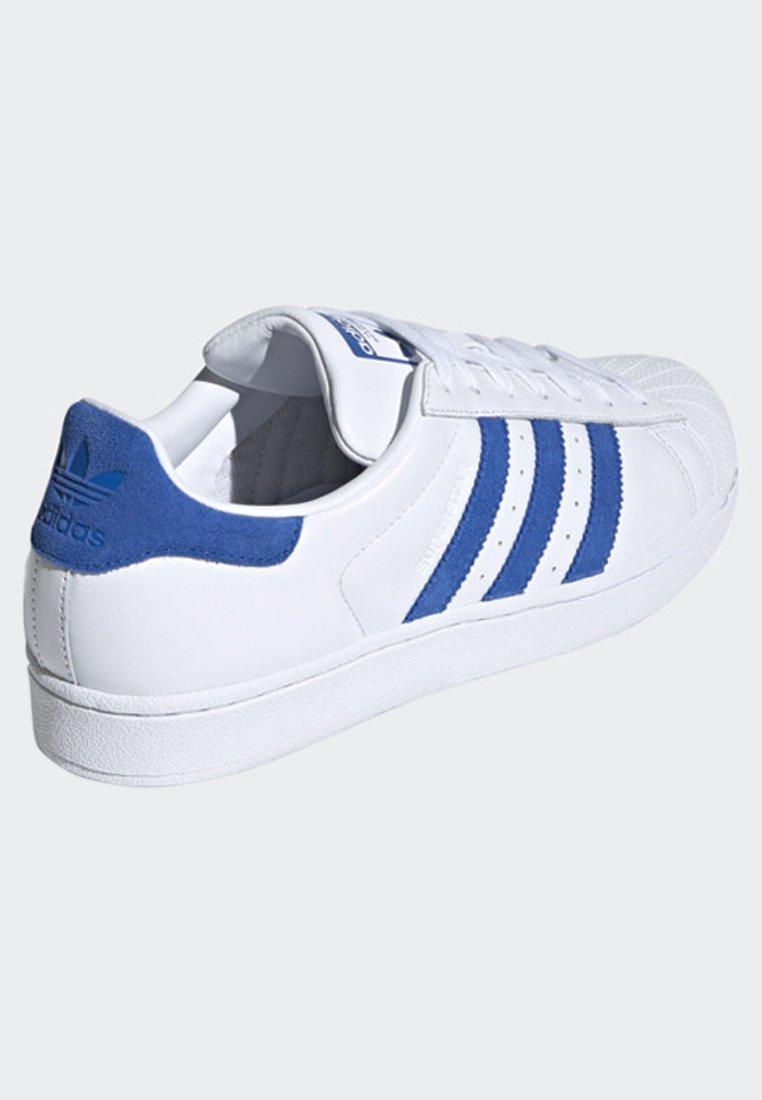 Adidas Originals Superstar Suede Stripes Shoes - Sneaker Low White Black Friday