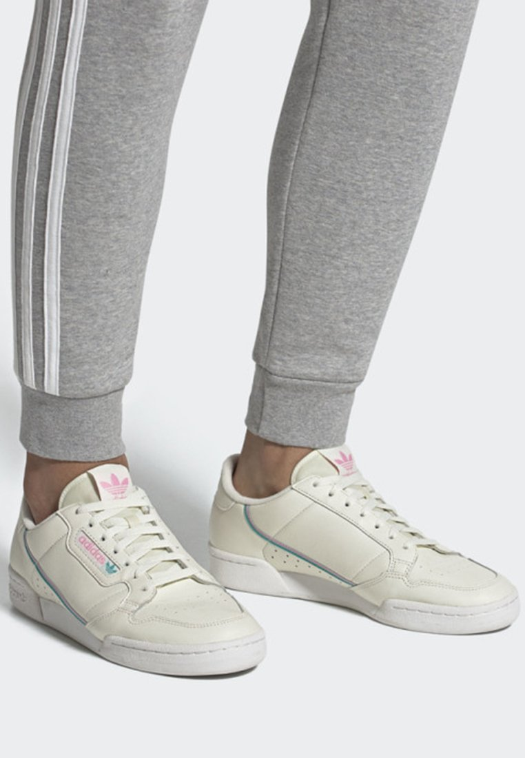 adidas Originals - CONTINENTAL 80 SHOES - Sneakers laag - white