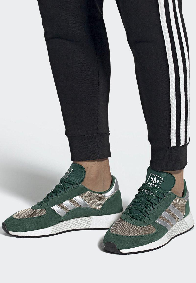 adidas Originals - MARATHON TECH SHOES - Trainers - green