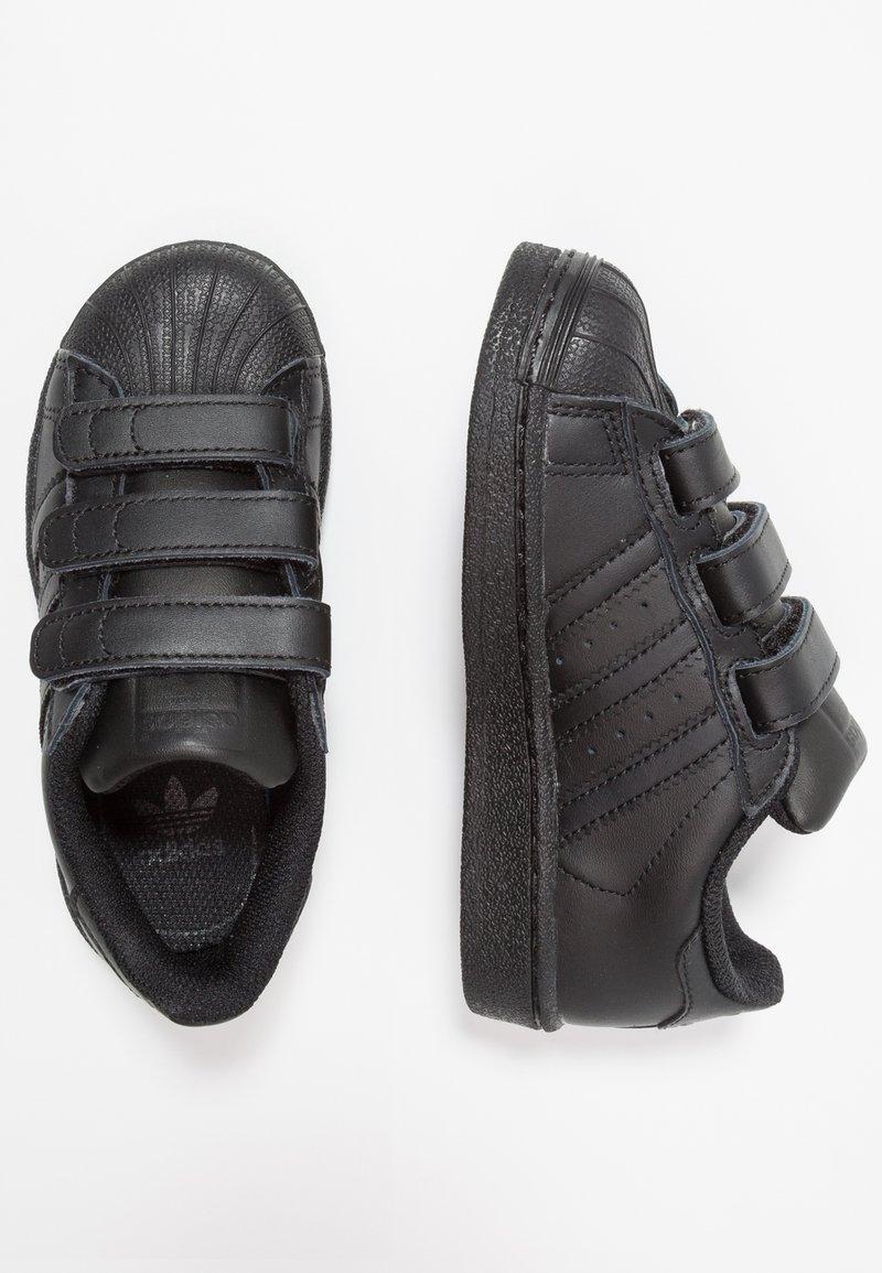 adidas Originals - SUPERSTAR FOUNDATION - Sneaker low - core black