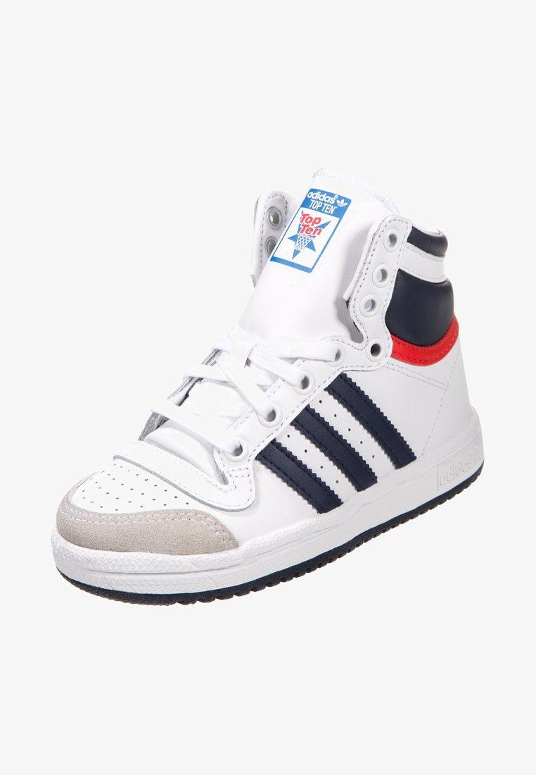adidas Originals - TOP TEN - Sneakers alte - white