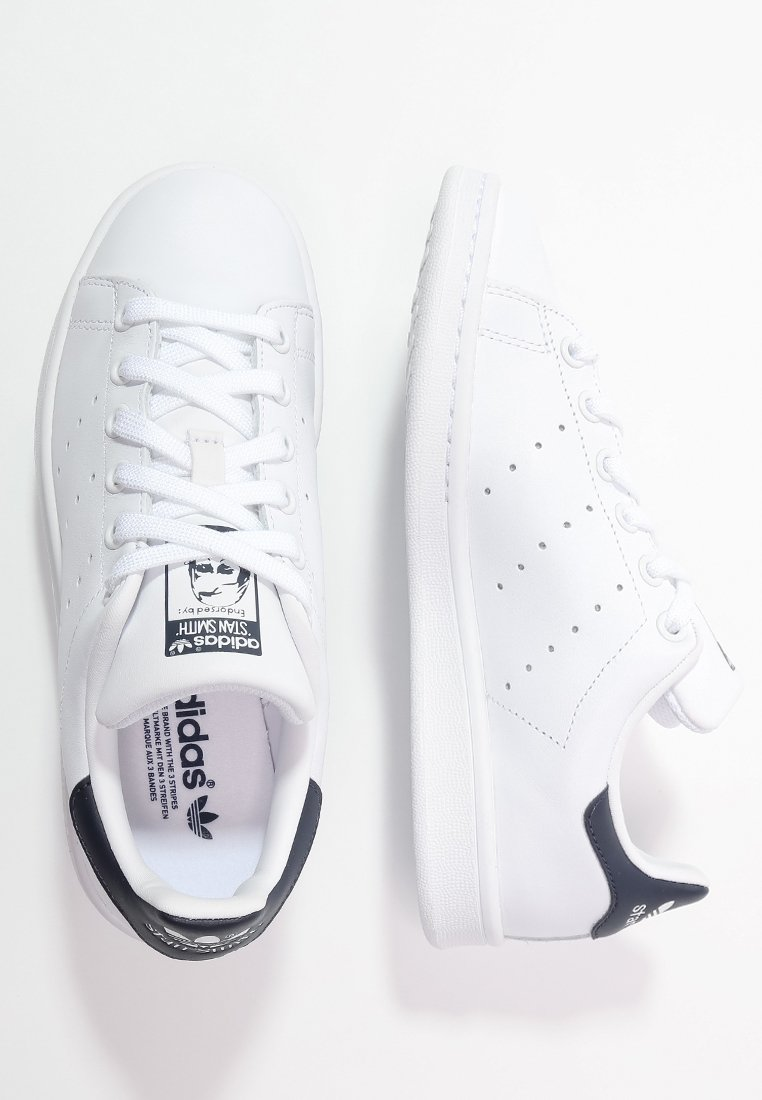adidas Originals STAN SMITH Sneakers run whitenew navy