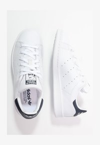 adidas Originals - STAN SMITH - Sneakersy niskie - run white/new navy