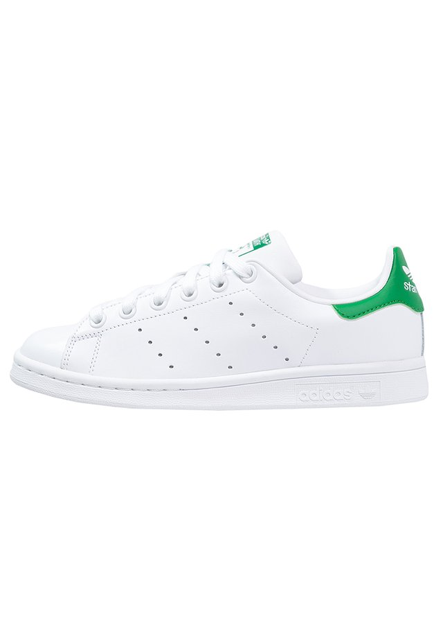 STAN SMITH - Matalavartiset tennarit - ftwr white/core white/green