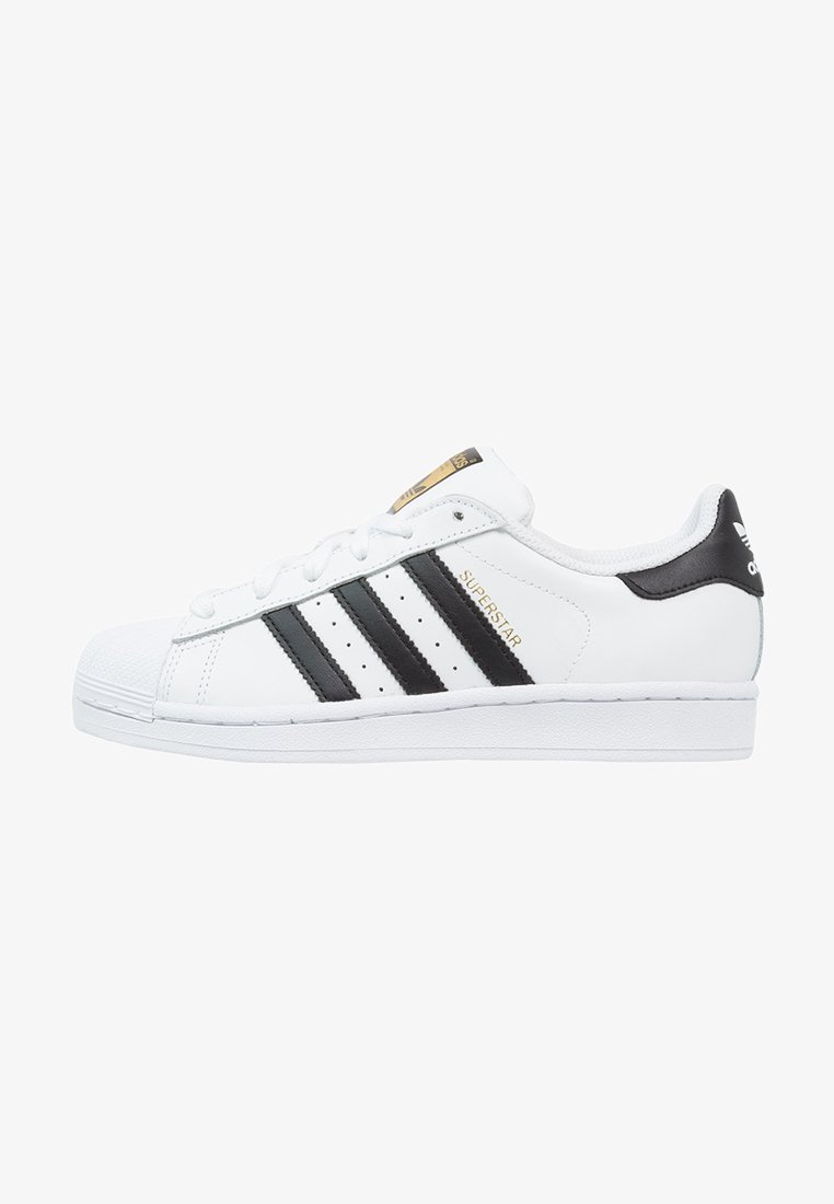 adidas Originals - SUPERSTAR - Sneakers laag - white/core black