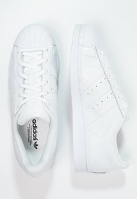 adidas Originals - SUPERSTAR FOUNDATION ALL BLACK STYLE SHOES - Trainers - white - 1