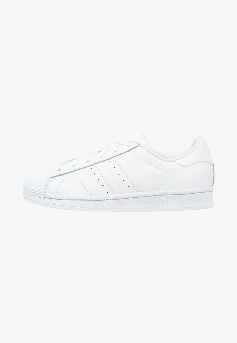 adidas Originals - SUPERSTAR FOUNDATION ALL BLACK STYLE SHOES - Sneakers - white