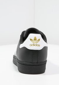 adidas Originals - SUPERSTAR FOUNDATION ALL BLACK STYLE SHOES - Matalavartiset tennarit - noir / blanc - 3
