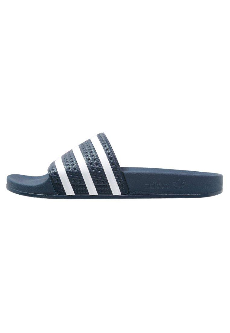 adidas Originals ADILETTE - Badslippers - blue/white ...
