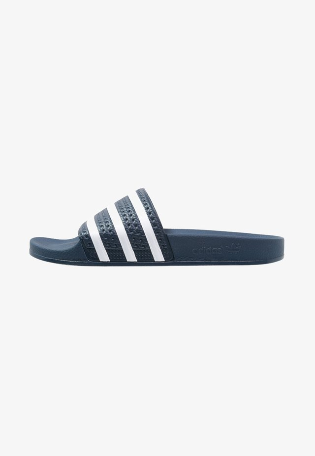 ADILETTE - Badslippers - blue/white
