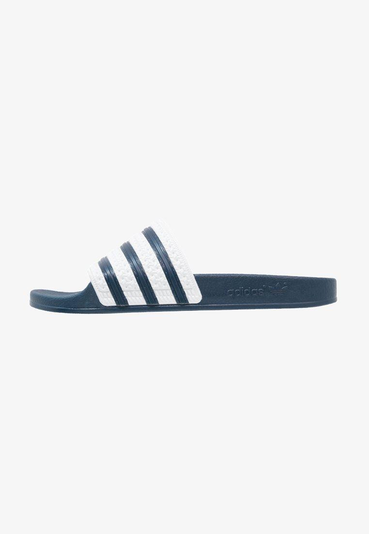 adidas Originals - ADILETTE - Sandali da bagno - adiblu/white