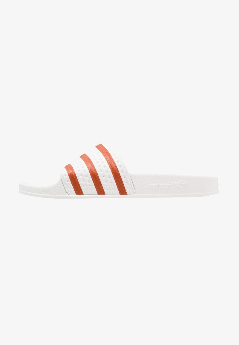 adidas Originals - ADILETTE - Badslippers - footwear white/fox red