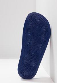 adidas Originals - ADILETTE - Sandały kąpielowe - power blue/footwear white/scarlet - 4