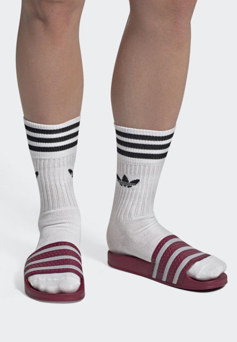 adidas Originals - ADILETTE SLIDES - Pool slides - red