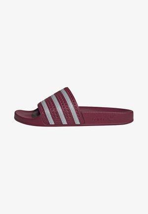 ADILETTE SLIDES - Sandales de bain - red