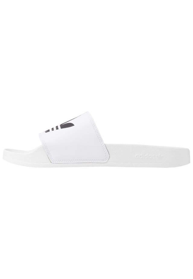ADILETTE LITE - Pantolette flach - white