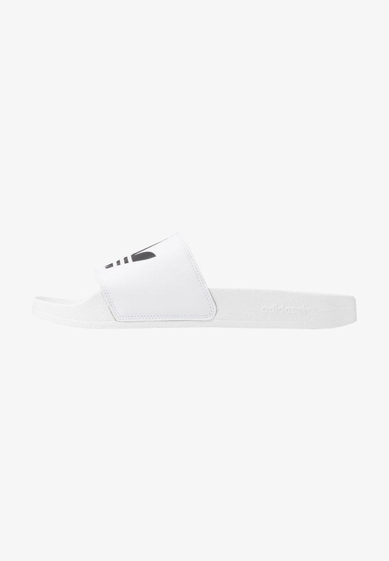 adidas Originals - ADILETTE LITE - Sandalias planas - footwear white/core black