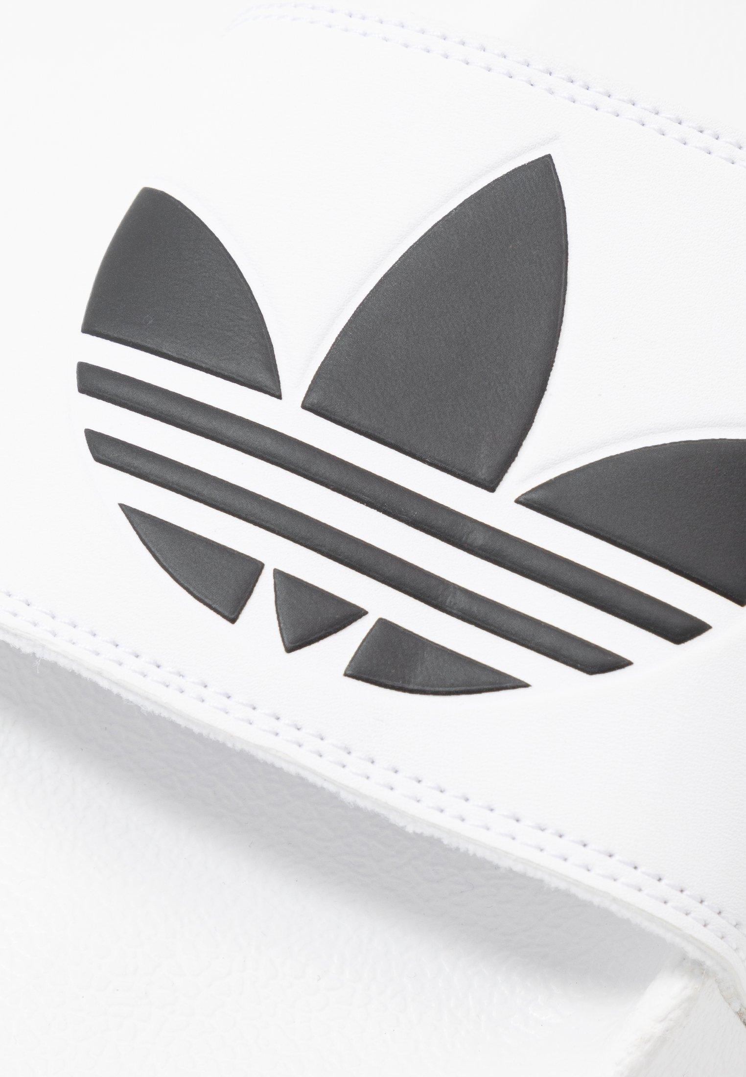 adidas Originals ADILETTE LITE - Ciabattine - footwear white/core black