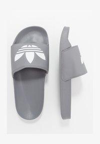 adidas Originals - ADILETTE LITE - Muiltjes - grey - 1