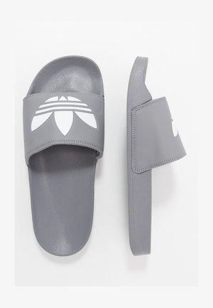 ADILETTE LITE - Mules - grey