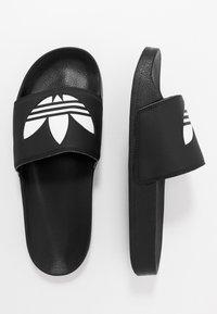 adidas Originals - ADILETTE LITE - Klapki - core black/footwear white - 1